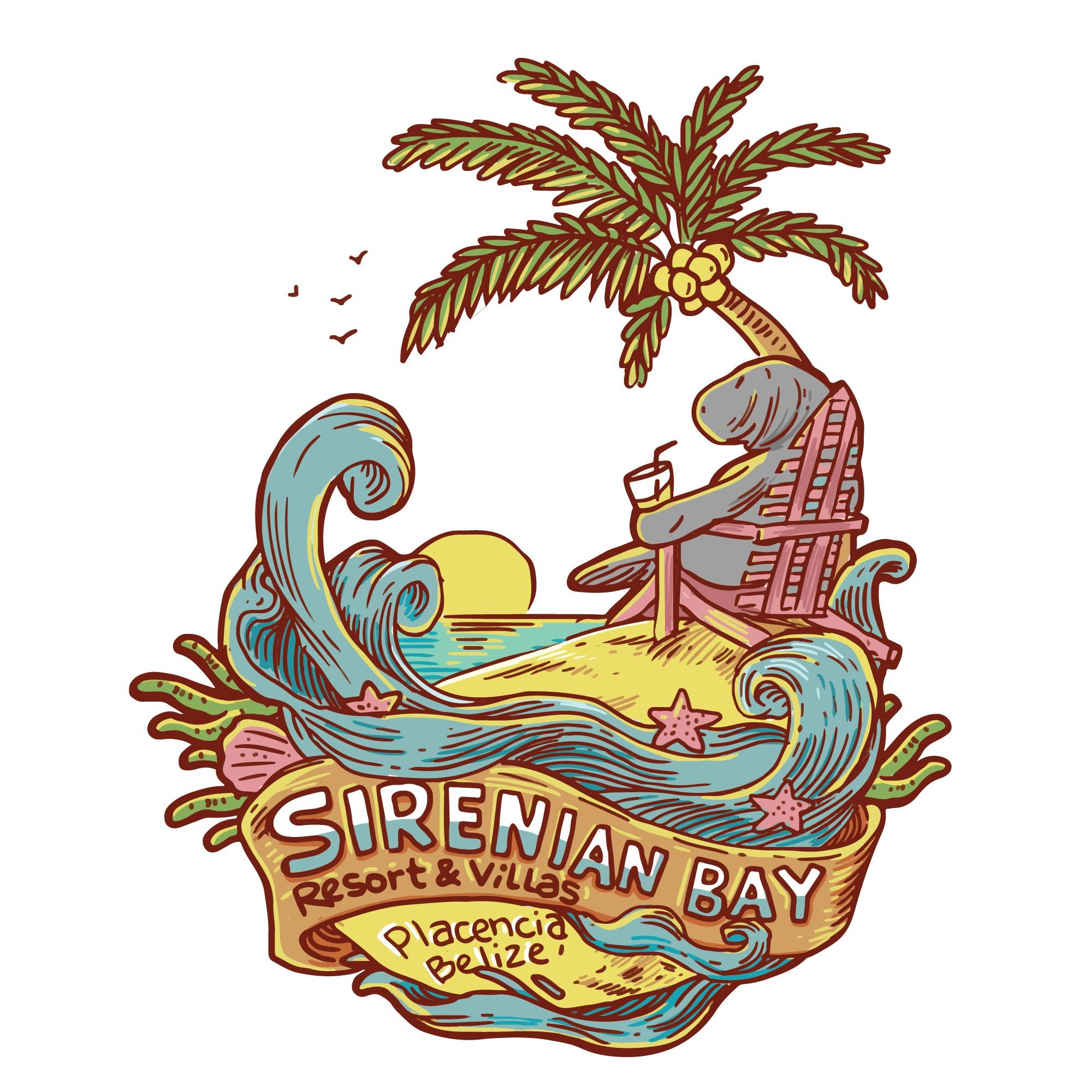Caribbean Resort Ladies' Tee Design