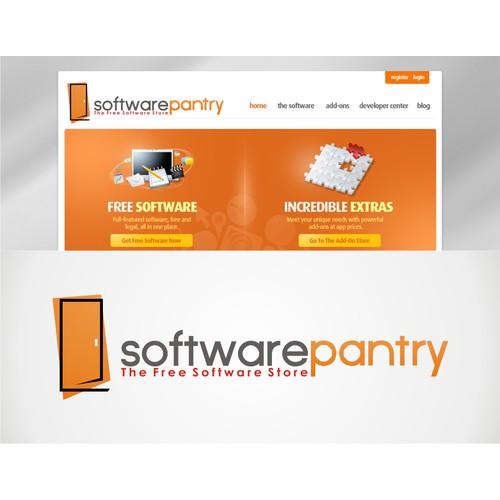 winner logo concept for software pantry