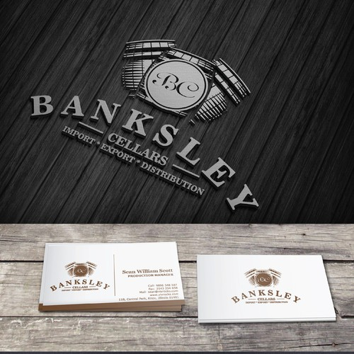 Help Banksley Cellars with a new logo and business card
