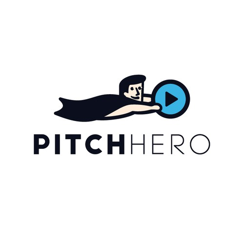 Hero + play logo