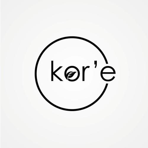 logo concept for kor'e