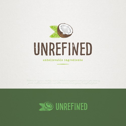 logo design for Unrefined