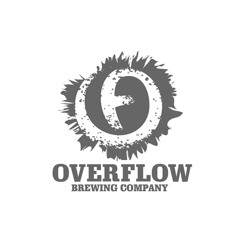 logo concept for a brewing company.