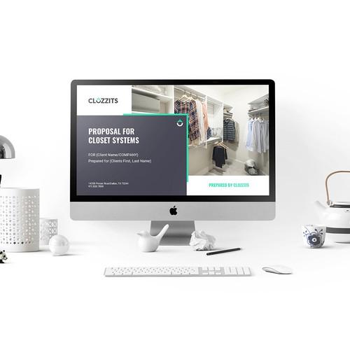 Presentation design for business consultancy