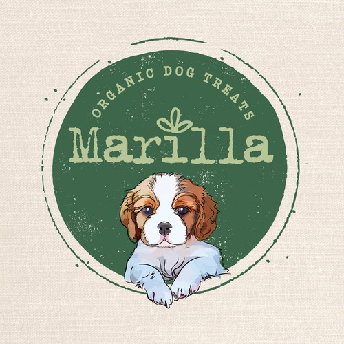 Label for organic dog food