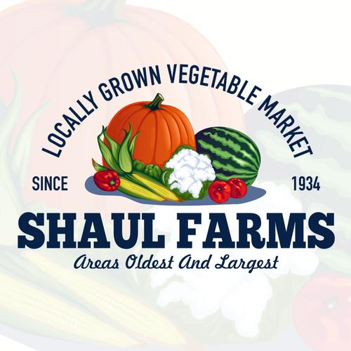 SHAUL FARMS Logo Designs
