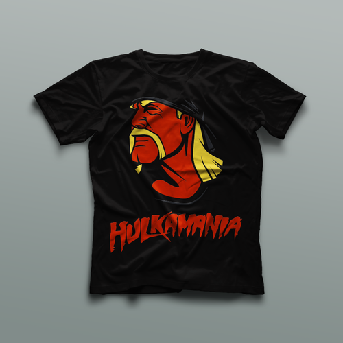 Hulkamania Shirt Design
