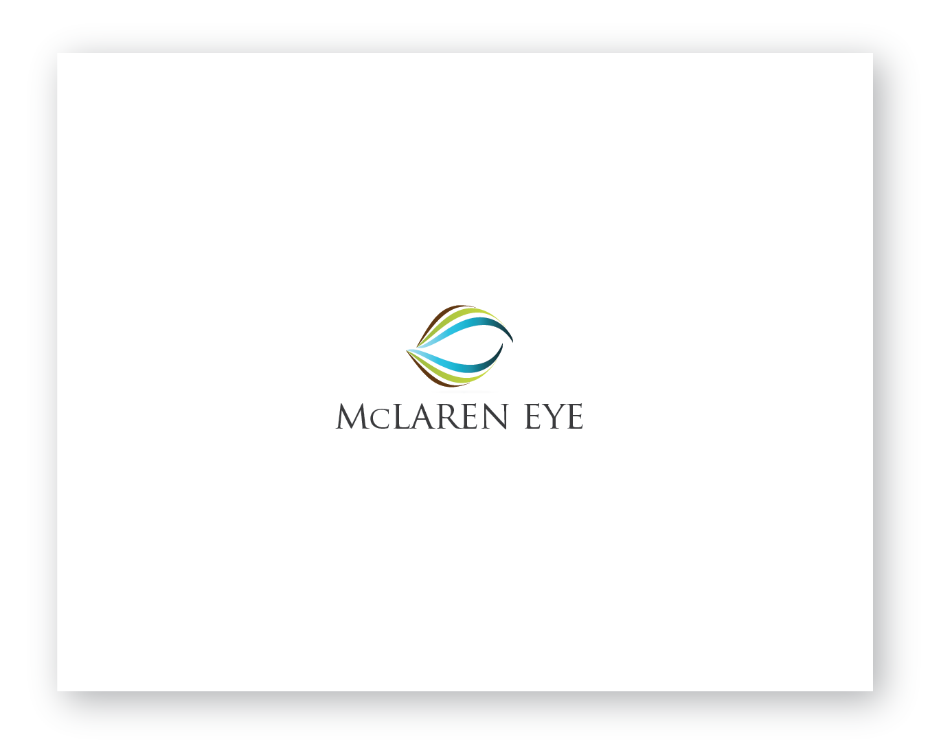 Create the next logo for McLaren Eye