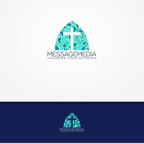 concept logo for church