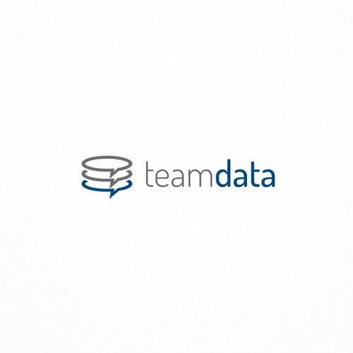 Tech logo for an app for team data management.