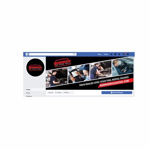 Facebook封面设计