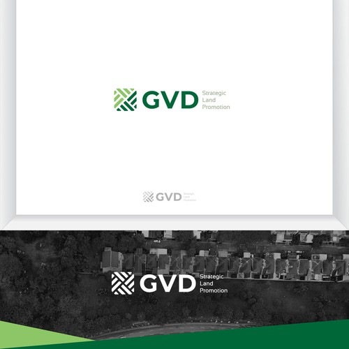 Logo Design for Greenvolt Development Housing and Land Promotion