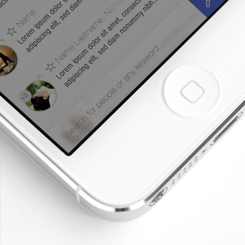 QUAIL: Simple & Clean Mobile Messaging App design