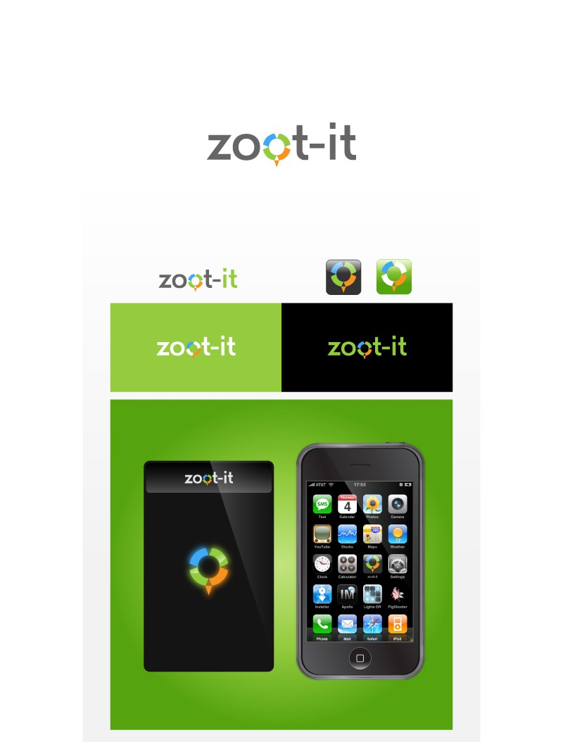 Zoot-It (geolocation mobile app) needs a new logo