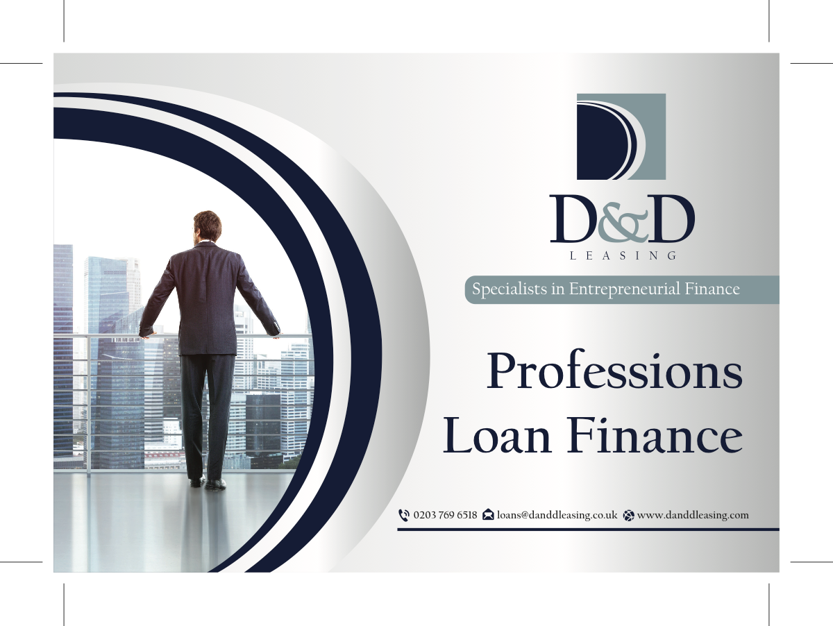 Professional Loans rate card