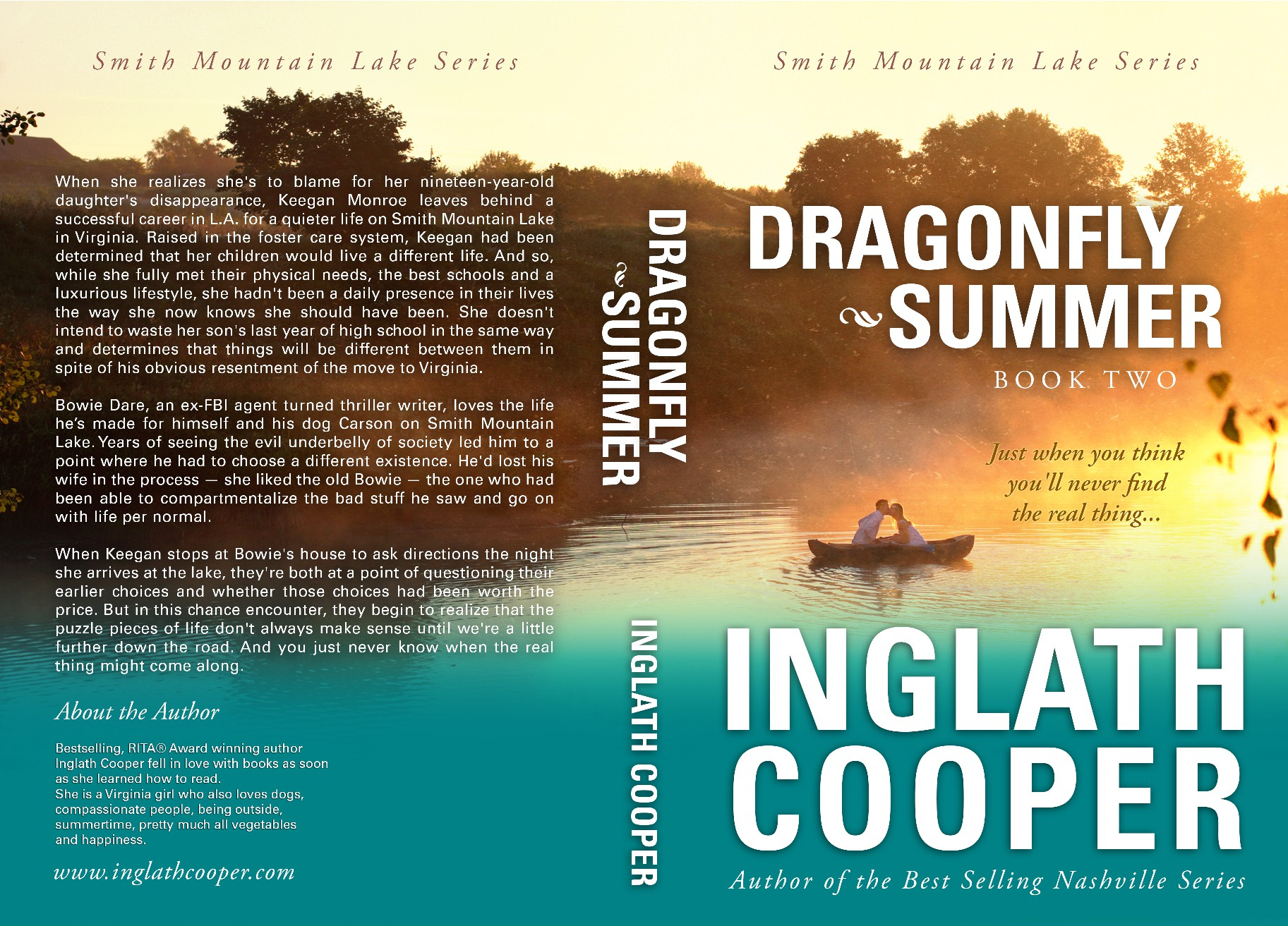 Dragonfly Summer Book Cover - upscale women's fiction/romance