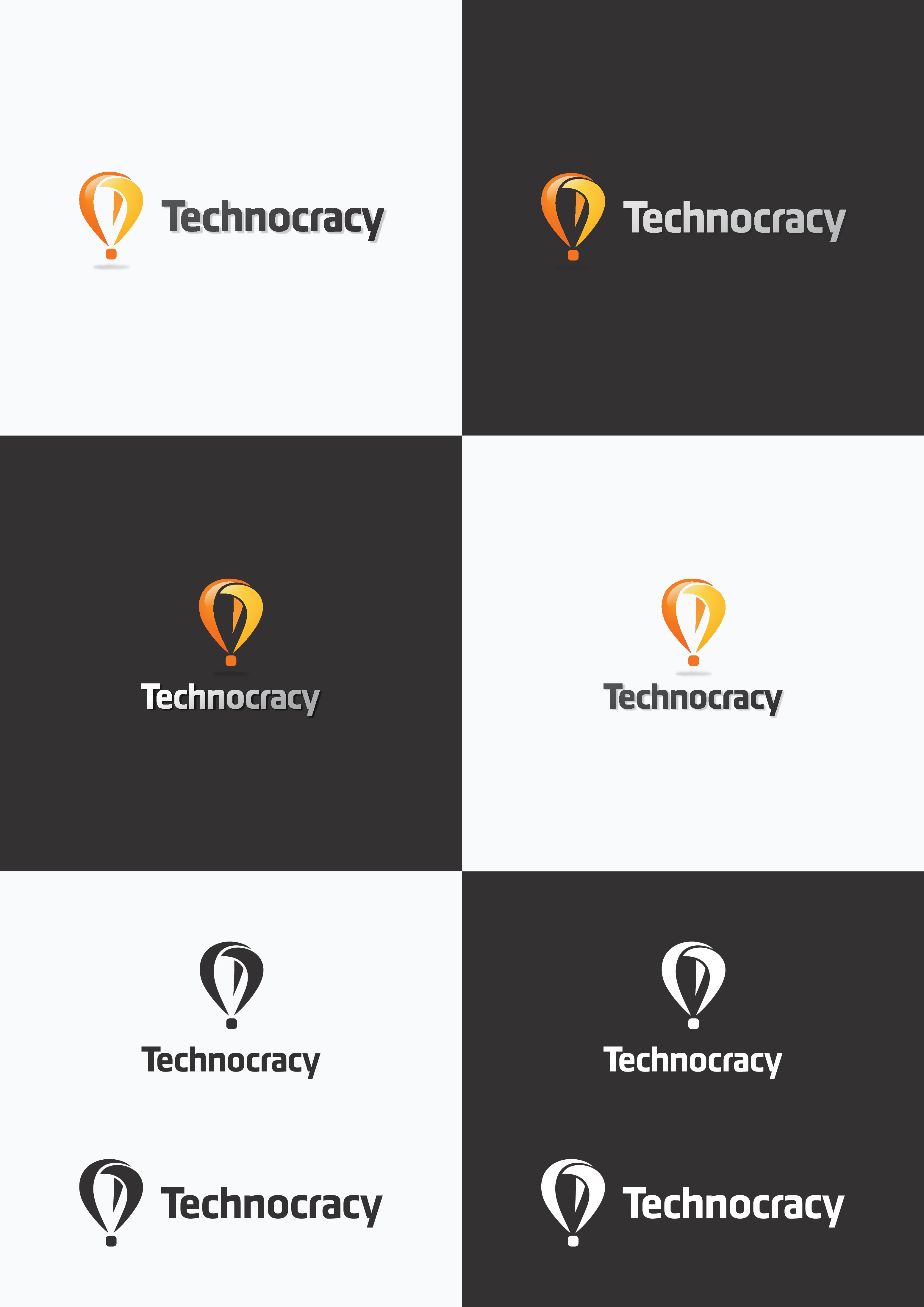 Create a powerful brand for our online store, Technocracy