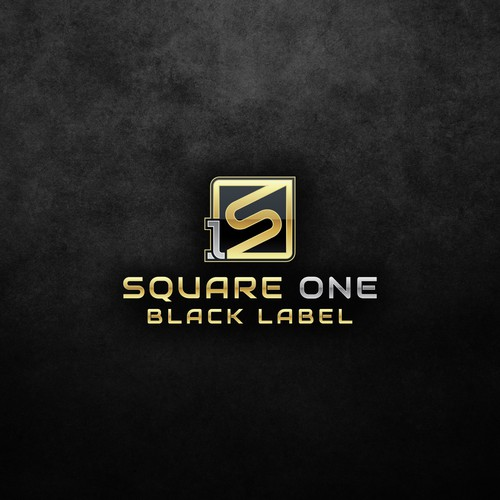 Square One Black Label Logo