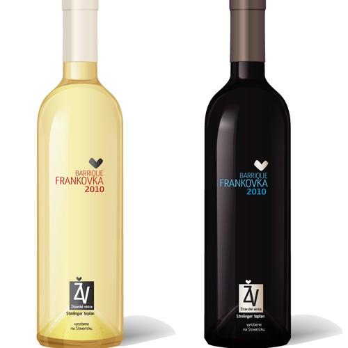 Wine labels (exclusive) needed for Žitavské vinice
