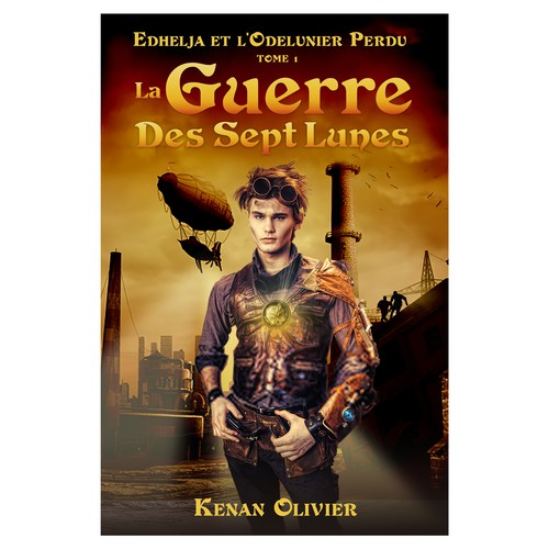 Cover for a Young Adult FANTASY Book in French
