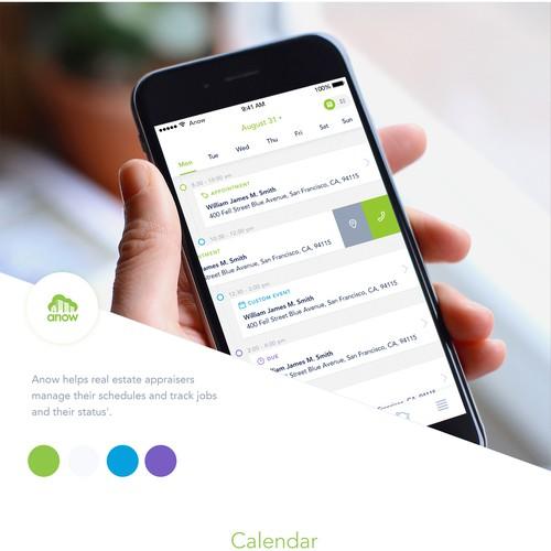 Anow Mobile App Design