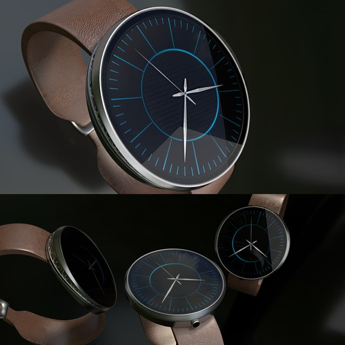 Luxurious&Unusual Wrist Watch Design