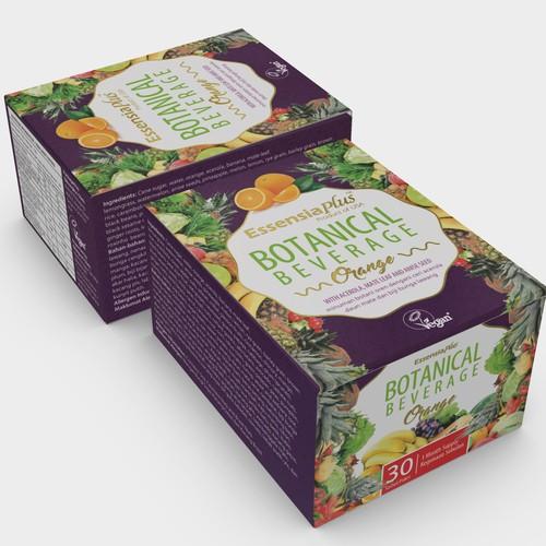 Beverage packaging for Essensia Plus