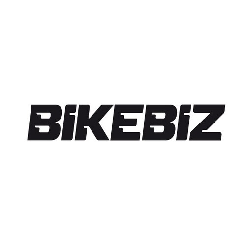 Bold wordmark for a moto business website.