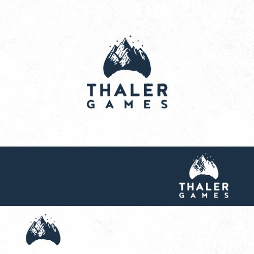 Logo for a Indie Game Studio based on Swiss