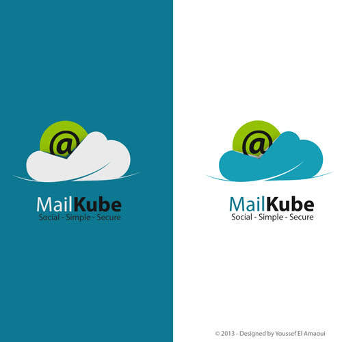Create the next logo for MailKube