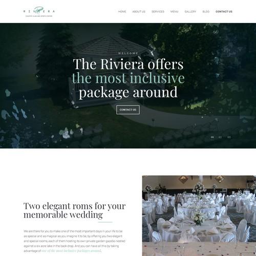 The Riviera Website