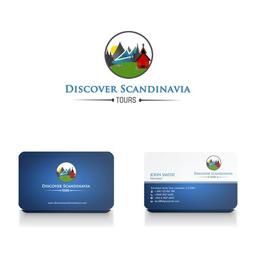 Logo & Business Card for Travel Company
