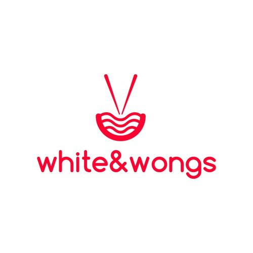 White & Wongs logo concept