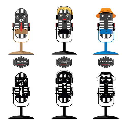 Microphone Characters