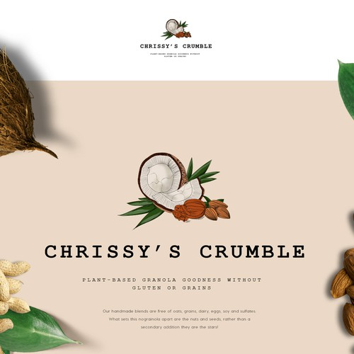 Packaging design - granola