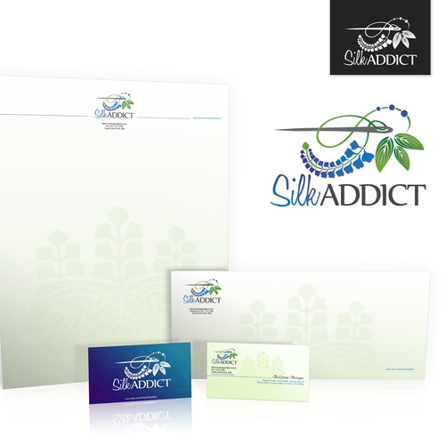 New logo and business card wanted for SilkAddict
