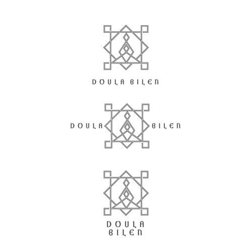 Doula Bilen geometric logo