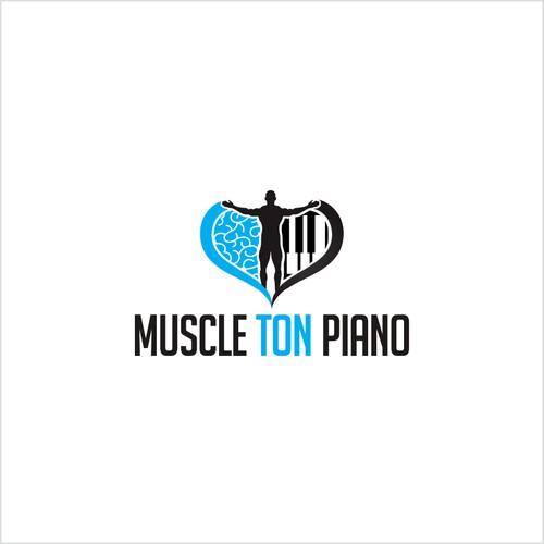 Créez le logo de muscle ton piano, 1er centre unique en france.