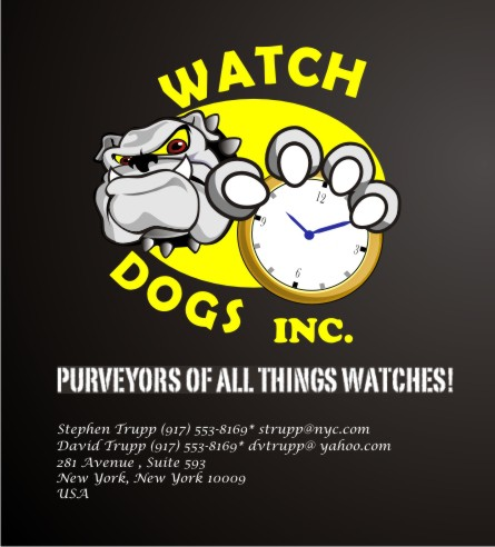 Help WATCH DOGS, Inc. with a new logo