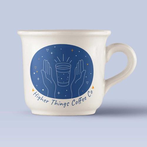 Higher Things Coffee Logo