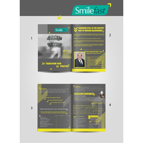 Create an attention grabbing A4 brochure! Detailed style guide and mock up included!