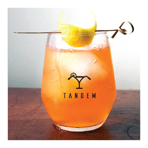 conceptual logo design for cocktail bar