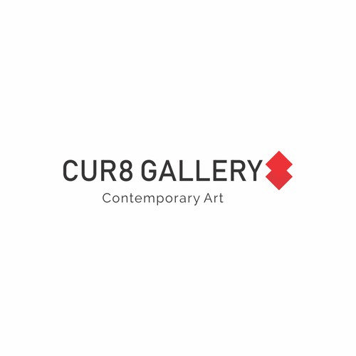 Logo for CUR8 Gallery