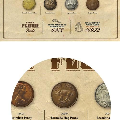 Antique-look, fun treasure map