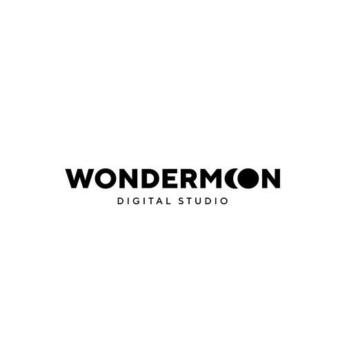 Bold logo for digital studio