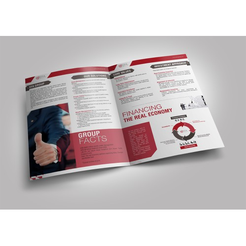 Creative booklet for specialist investment firm needed!
