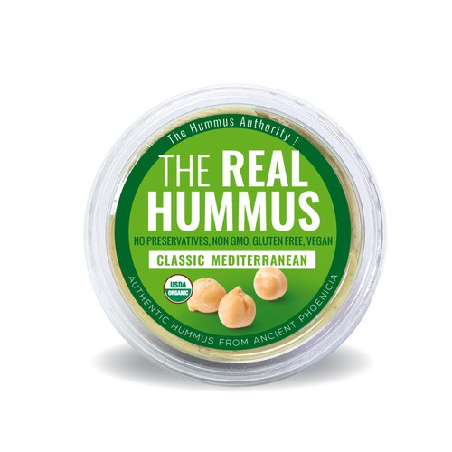 packaging for Hummus