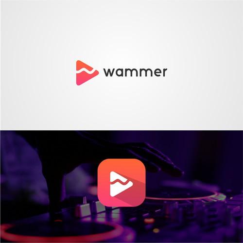 logo for wammer