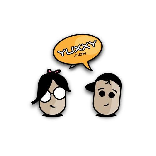 Funky Logo For Teen Website