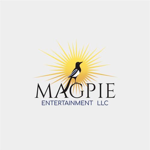 bird logo for magpie entertainment